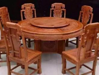 老榆木家具 老榆木茶台图片 经久不衰的历史