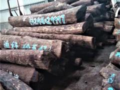 张家港现货供应进口赞比亚血檀原木