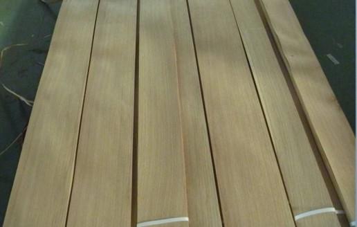 浙江德清洛舍镇隆森木皮厂:白橡直纹木皮生产视频