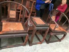 酸枝配瘿木皇宫椅