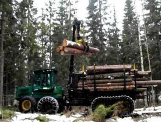 9月芬兰木材采伐量提高到530万立方米