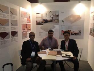 徐州安联木业有限公司参加马来西亚国际家具展