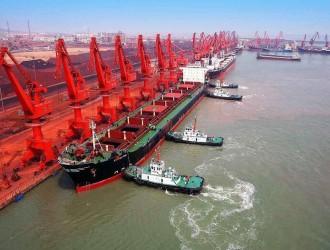 拉脱维亚首艘木材散装船从里加港开往山东日照港