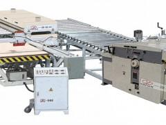 木工板式多片分条锯纵横自动开料生产线