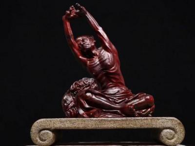 国家级大师巨作_印度小叶紫檀人体雕塑