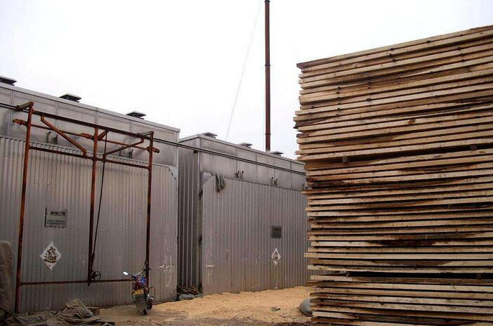 杨木烘干板材