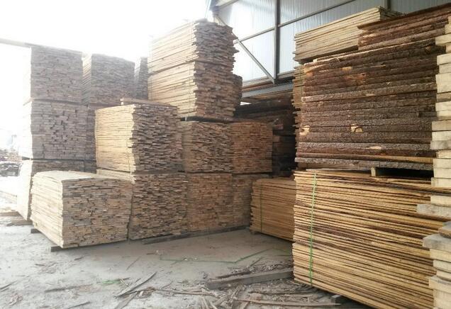 榆木烘干板材产品