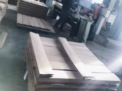 进口柞木地板木皮
