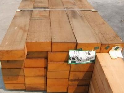 港口进口木材批发柳桉木\菠萝格木\防腐木\巴劳木价格优惠