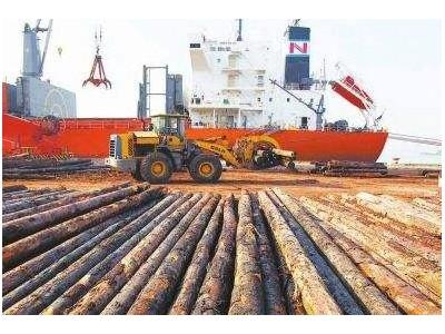 太仓港进口木材业务发展