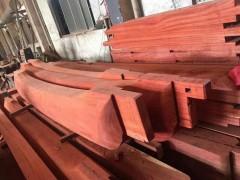 红花梨寺庙大料定制 红花梨板材价格 红花梨加工厂