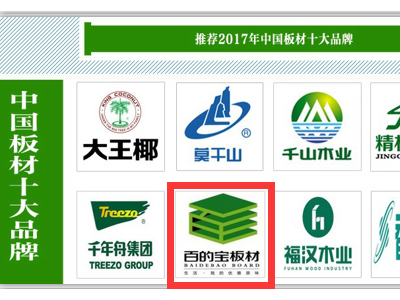 中国板材十大品牌百的宝揭开生态板市场真相