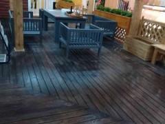木制地板户外防腐木工程