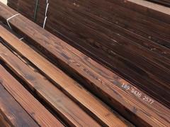 碳化木_深度碳化木_程佳碳化木厂家