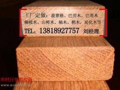 厂家生产大量防腐木龙骨 菠萝格木龙骨 长期供木龙骨