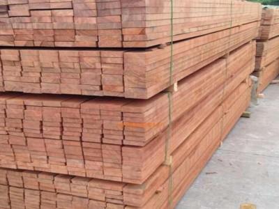 二连浩特樟子松口料防腐木价格下降大