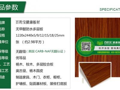 百的宝健康板材品牌:胶合板厚薄不均的的成因和解决方式