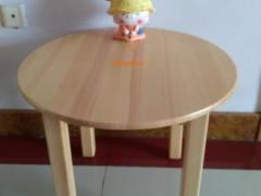 实木儿童小圆桌宝宝桌子椅子套装幼儿园桌椅游戏桌幼儿画画桌