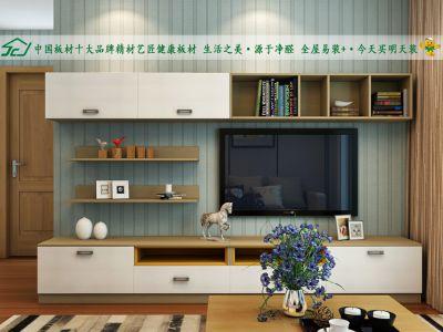 精材艺匠全屋易装+模块功能板让电视背景墙颜值逆袭!