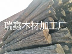 供应大径槐木  适用于各种船板