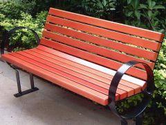 户外休闲椅 休闲平凳专业制作厂家选济南创景,真材实料专业打造