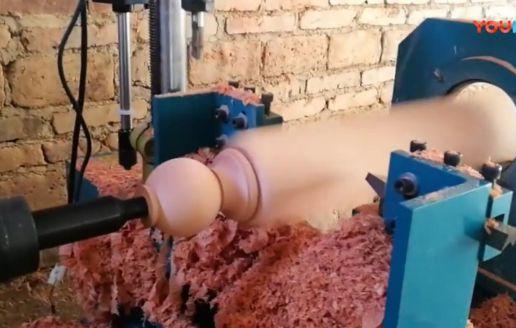 实木家具厂环保措施是这样做的, 每台木工机械都有安装