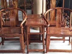 虎斑木圈椅