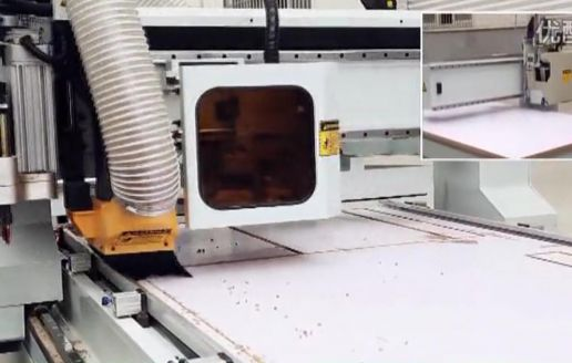 定制橱柜生产线衣柜生产线定制家具生产线数控排钻