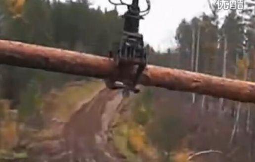 俄罗斯卡车 乌拉尔 Ural 运输木材 西伯利亚