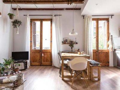 打造温柔的!用藤编家具和原木家饰让冬天的家暖呼呼