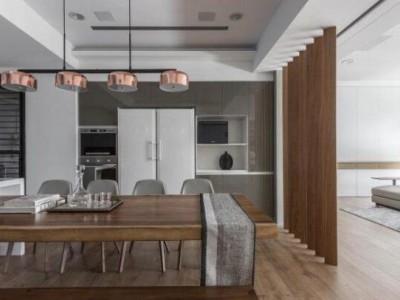 木制搭配灰色,家居装修越来越流行?