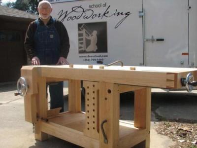 自己动手制作一张属于自己独一无二的木工桌!