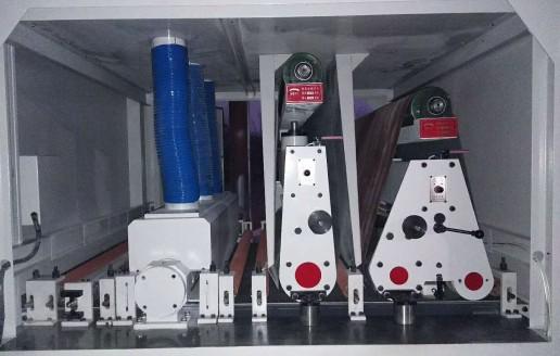630上浮和下砂超短料砂光机 (189播放)