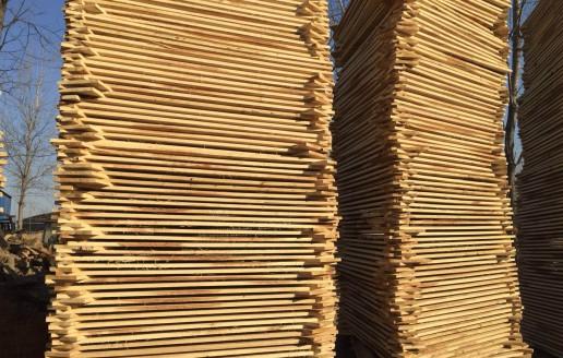 优质白杨木烘干板材生产厂家