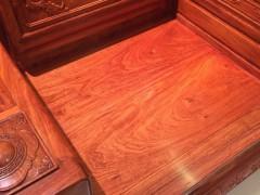 供应东阳御美尚品红木,缅甸花梨木沙发,大床,刺猬紫檀