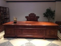 东阳御美尚品红木,缅甸花梨木沙发,书桌,刺猬紫檀