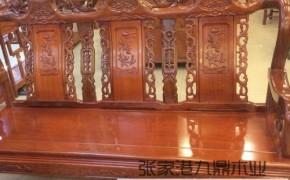 青海供应菠萝格防腐木木材 屋内豪华 花园木地板 户外精装