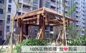 亭子木材 防腐木凉亭的特点介绍 九鼎木业