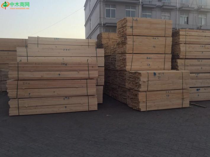 上海建筑木方_花旗松木方厂家