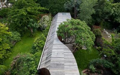 英国树屋,花园式居住环境