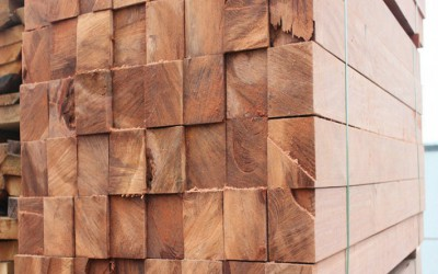 厂家供应 车船专用垫木 轨道枕木 柳桉木木方 定尺加工