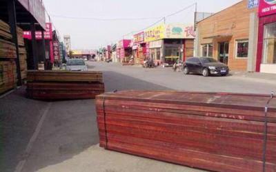 北京东坝名贵木材市场接通知,要求十日内关闭