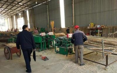 市林业产业发展管理局突击检查东乡区木材加工企业