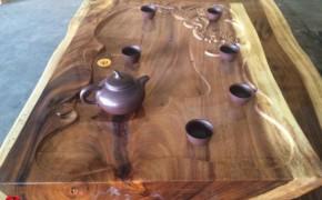 核桃木精美茶盘