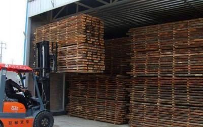 重庆五桂镇开展木材加工
