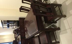 秦皇岛红木黑酸枝餐厅家具
