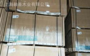 全进口奥松板全松木密度板中纤板发白发黄密度板1220*2440*12mm