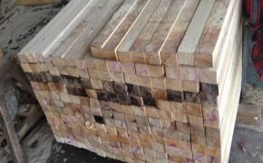 铁杉精品木方加工