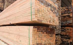 花旗松原木加工 建筑木方 景观木材原材料