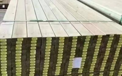 赤欧松芬兰木园林景观木材现货上海弋景工厂直供
